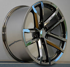 NEW! (4) 20x9 Black Chrome Style 41 ZL1 Fits All 2010-Up Camaro Wheels Rims Set