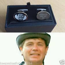 Personalised Photo Favors S.Steel Cufflink Best Man, Wedding, Father's day gift