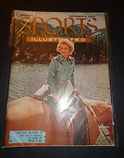 Sports Illustrated October 4, 1954 JOYCE SELLERS Horses, Casey Stengel Oct '54