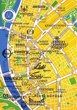 BC60266 Maps Cartes geographiques Hungaria Inner Town of Budapest