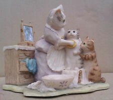 B.F.A. BEATRIX POTTER FIGURINE - THIS ONE IS MOPPET - CM4 - A/F.