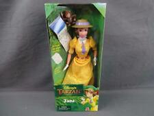 1999 Mattel 22345 Disney's Tarzan Jane Doll with Sketch Book and Monkey NRFB