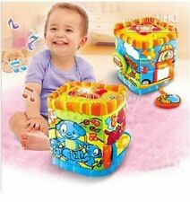 Rocking music cube MUSIC & LIGHT swing Baby Development Toys Press & Learn Cube