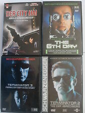Arnold Schwarzenegger Sammlung Paket - City Hai - Terminator 2 + 3 - The 6th Day