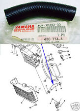 Yamaha RD125LC RD125YPVS Radiator Hose NOS RZ125 RAD Rubber PIPE 10W-12482-00