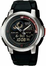 CASIO AQF 102W 1BV Orologio Temperatura World Time 50 Set di memoria