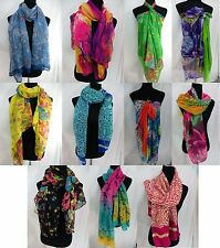 US SELLER-$3.25/p wholesale lot 12 trendy maxi long fashion scarves sarong wrap