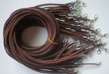 Wholesale 20pcs Brown Suede Leather String 20 inches Necklace Cord == NO PROFIT