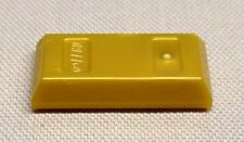 x1 NEW Lego Gold Bar Ingot MINIFIG Utensil Treasure Money Coins
