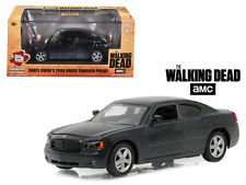 "DARYL DIXON'S 2006 DODGE CHARGER POLICE ""THE WALKING DEAD"" 1:43 GREENLIGHT 86505"