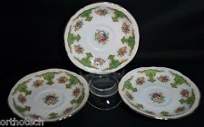 ARKLOW Irish Bone China Porcelain 6305 Saucer Lot of 3 Republic of Ireland Used