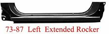 73 87 LEFT Chevy & GMC Extended Rocker Panel OEM Type, Goes Into Jambs 898-03L