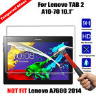 Premium Tempered Glass Screen Protector For Lenovo tab2 A10-70F 2016 Tablet