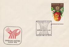 Poland postmark PLOCK - harvest festival (analogous)