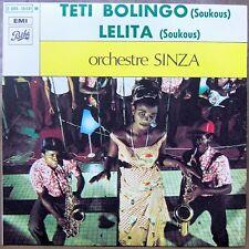 """ORCHESTRE SINZA Teti Bolingo 7"""" AFRO CONGO MINT!"""