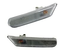 Porsche 986 996 Carrera Side Marker Lights Set of 2 Clear Hella OEM New