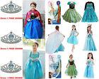 Ice Queen Girls Dresses Elsa Frozen dress costume Princess Anna party dress 3-8T