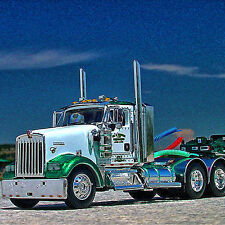 HTF DCP - CHAMBERS TOWING #1 - Kenworth W900 DayCab - Fontaine 3 Axle LB - 32521