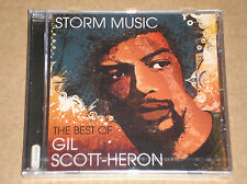 GIL SCOTT-HERON - STORM MUSIC: THE BEST OF - CD SIGILLATO (SEALED)