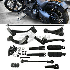 Forward Control Complete Kit Peg Lever Linkages For Harley Sportster 04-2013 LF