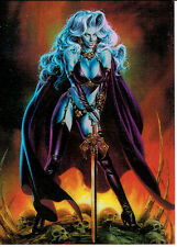 LADY DEATH SERIES 2 CLEARCHROME CARD C2
