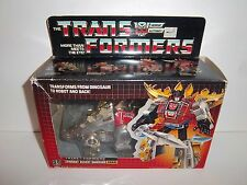 1985 G1 Transformers Dinobot **SNARL** 100% Complete MIB Box & Bubble C9.5 MINT