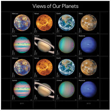 USPS New Views of Our Planets Pane of 16