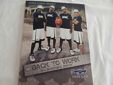 FAU Basketball 2007-08 Media Guide! NEW! NEVER OPENED! ONLY COPY ON eBAY!!
