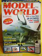 "RCMW JANUARY 2006 RC MODEL WORLD & TWOPERT 52"" PLAN WOODVALE BALTIMORE WHORE"