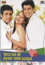 HOTA HAI DIL PYAAR MEIN PAAGAL -BOLLYWOOD DVD FREE POST
