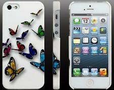 Coque Housse Etui  PAPILLON PAPILLONS BUTTERFLY Pour IPhone 5 5S CASE