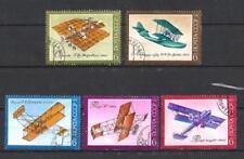 Avions Russie (55) série complète de 5 timbres oblitérés