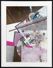 """†James """"Jace"""" Collins ( -2012), """"Abstract,"""" reverse oil painting on ... Lot 2473"""