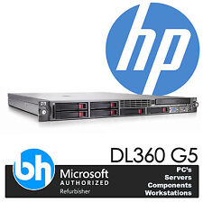HP ProLiant DL360 G5 2x Quad Core X5450 Xeon 3.0GHz 32GB RAM P400 RAID 4x 146GB