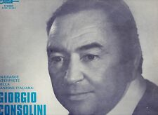 GIORGIO CONSOLINI disco LP 33 UN GRANDE INTERPRETE... Made in ITALY 1976