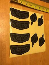 Verde Bikes Cartel BMX Frame Original Factory Decal Set