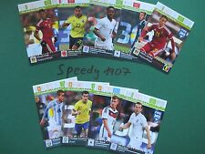Panini Adrenalyn FIFA 365 all 9 International Rising Stars Neuer Kane complete