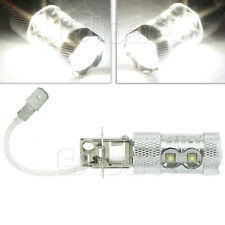 High Power H3 50W LED 2000LM Bright Car Fog Light Daytime Running DRL Bulb