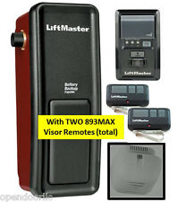 8500 LiftMaster Elite Series® Wall Mount Garage Door Opener w/2 893MAX Remotes