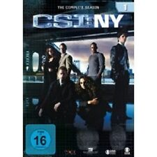 "CSI NY ""SEASON 1"" 6 DVD SET TV SERIE NEU"