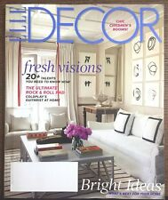 ELLE DECOR MAGAZINE MAY 2014 BRIGHT IDEAS ROCK & ROLL PAD COLDPLAY'S GUITARIST