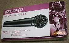 Digital Reference Vocal Microphone,  DRV 100 ,METAL Body, BRAND NEW in box