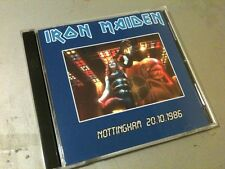 Iron Maiden Double CD Nottingham England Somewhere In Time Tour 86