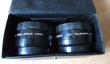 Rokunar Aux Wide Angle and Telephoto Lens  AF35ML in Case