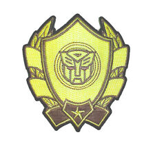 Transformers Logo Badge Iron On Patch On Hat Vest Jacket Shirt New