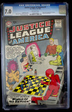 JUSTICE LEAGUE OF AMERICA #1 CGC 7.0 Key Silver Age DC Batman, Superman, Flash