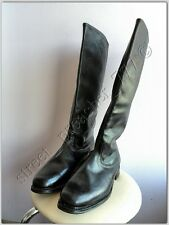 Boxcalf USSR Russian Soviet Army Officer Military Boots calf chrome NEW 43 Ш