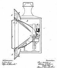 Railroad lamp, Signal lantern, Locomotive light: 1849+