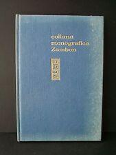 IL CONTROLLO BIOLOGICO DEL CONCEPIMENTO - A.Cestari, L.Sperotti [Zambon, 1970]