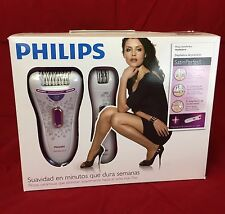 (8 FEET) CORDED EPILATOR + BATTERY MINI EPILATOR PHILIPS SATIN PERFECT HP6574/10